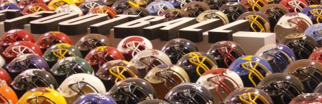 football helmets2